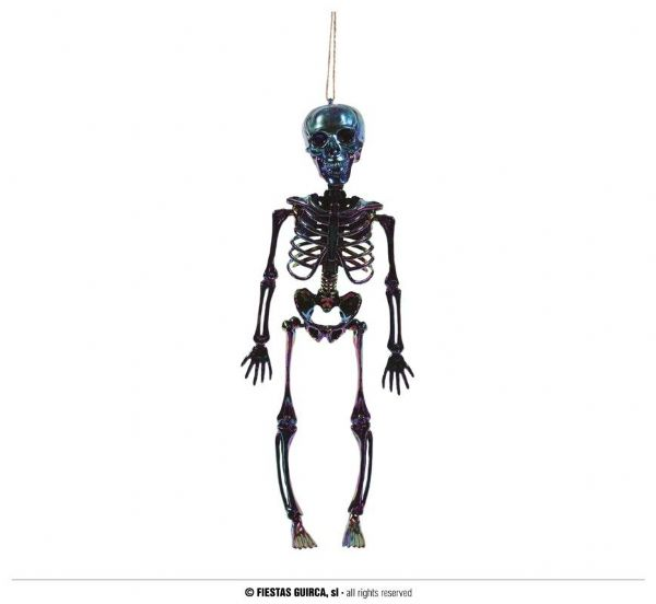 MULTICOLOR SKELETON HANGING